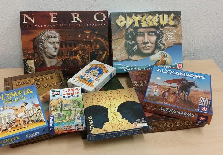 Spiele zur Antike für die Ganztagsbetreuung