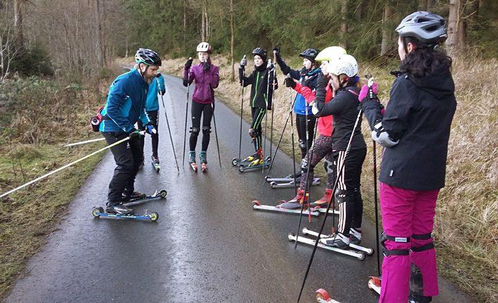 Trainingslager der Ski-AG